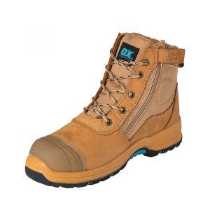 OX Nubuck Zipper Work Boots